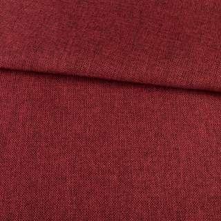 Рогожка на клеевой основе красная темная, ш.150 оптом