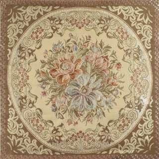 ткань подуш. розово-молоч. с мелк.цветами в квадрате оптом