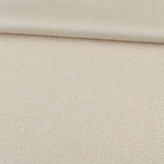 Рогожка інтер'єрна твідова ялинка пісочний, ш.142 оптом