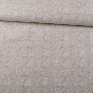 Софт мебельный меланж молочно-серый, ш.140 оптом