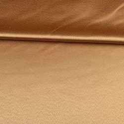 Ткань скатертная бежевая с атласным блеском, ш.320