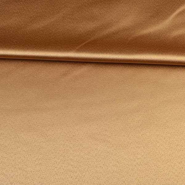 ткань скатертная бежевая с атласным блеском, ш.320 оптом