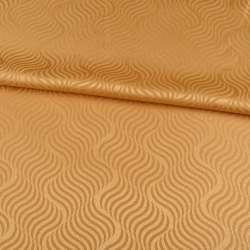 жаккард скатертный волны золотисто-желтый, ш.320 оптом