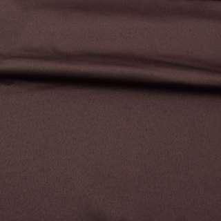 Ткань скатертная коричневая с атласным блеском, ш.320 оптом