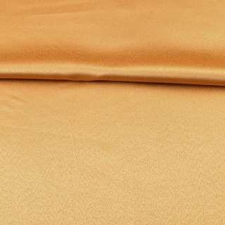 Ткань скатертная золотисто-желтая с атласным блеском, ш.320 оптом