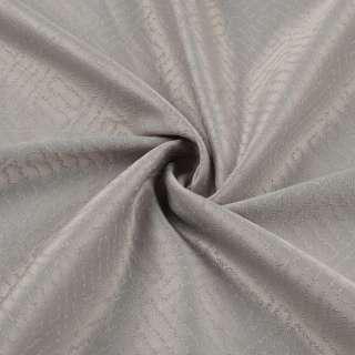 Жакард скатерковий лабіринт сірий світлий, ш.320 оптом