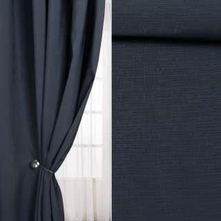Льон інтер'єрний штрихи дрібні синій темний (берлінська лазур), ш.290 оптом