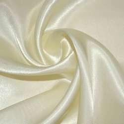 Атлас портьерный молочный ш.280 оптом