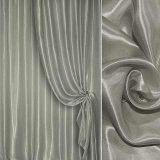 Атлас портьерный серый светлый ш.280 оптом