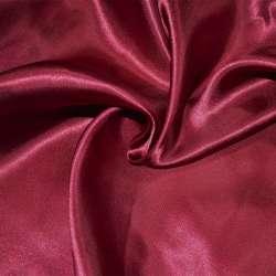 Атлас портьерный вишневый светлый ш.280