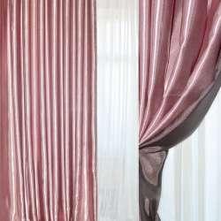 Атлас портьерный хамелеон розово-черный ш.280 оптом