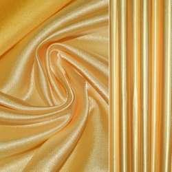 Атлас портьерный золотисто-желтый гладкий, ш.280