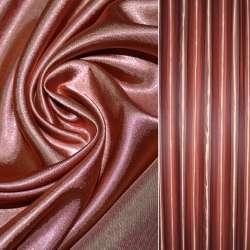 Атлас портьерный розово-болотный гладкий, ш.280 оптом
