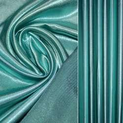 Атлас портьерный бирюзово-серый, ш.280 оптом