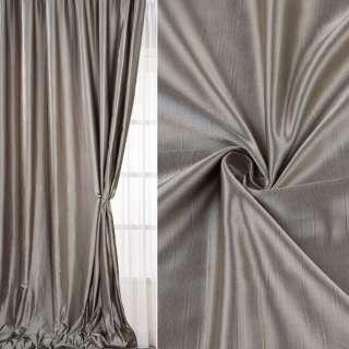 Шанзелізе для штор щільна  фисташково-сіра світла ш.306 оптом