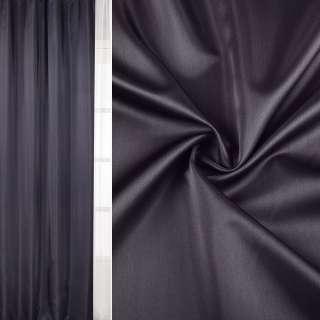 Атлас матовий для штор сіро-фіолетовий, ш.140 оптом