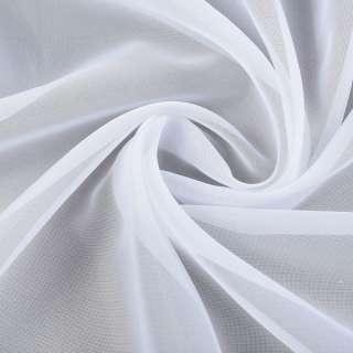 Вуаль белая с утяжелителем (V588) ш.290 оптом