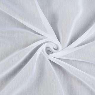 Батист гардинный белый с утяжелителем, ш.180 оптом