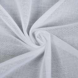 Батист гардинный белый, с утяжелителем, ш.260 оптом