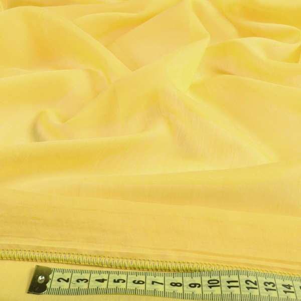 Батист гардинный желтый яркий с утяжелителем Германия, ш.300 оптом