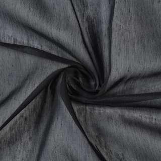 Батист гардинний чорний, з обважнювачем, ш.300 оптом