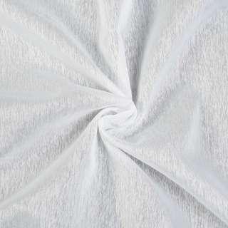 Креп-тюль молочный с утяжелителем, ш.260 оптом