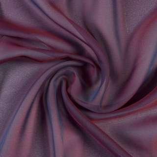 Креп гардинний хамелеон бордово-синій з обважнювачем, ш.300 оптом