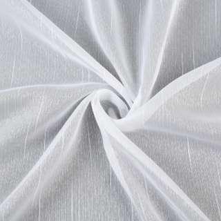Вуаль біла з нитковим штрихами з обважнювачем ш.150 оптом