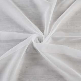 Вуаль біла в тонкі дрібні ниткові штрихи з обважнювачем ш.250 оптом