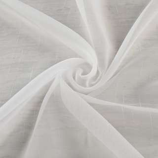 Вуаль молочна з тонкими нитковим штрихами з обважнювачем ш.260 оптом