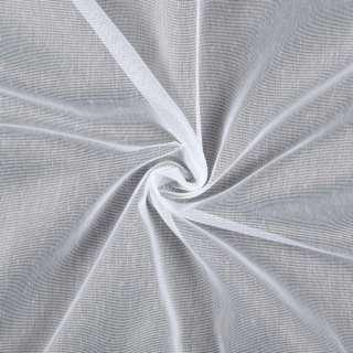 Лен гардинный белый с утяжелителем, ш.150 оптом