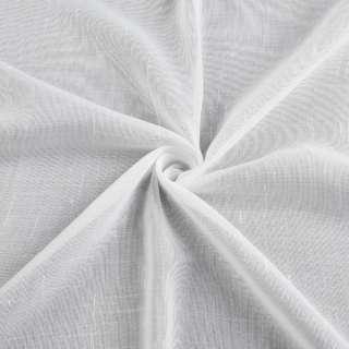 Льон гардинний штрихи ниткові, білий з обважнювачем, ш.300 оптом