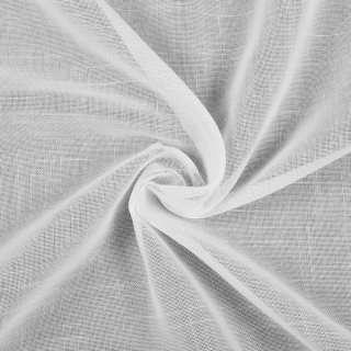 Лен гардинный белый, короткие штрихи, с утяжелителем, Германия, ш.300 оптом