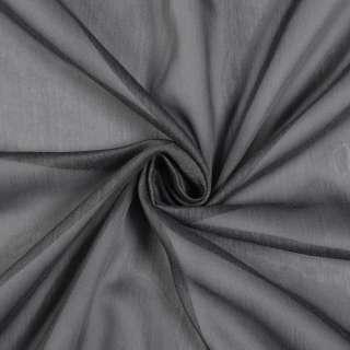 Лен гардинный серый темный с утяжелителем, Германия, ш.300 оптом