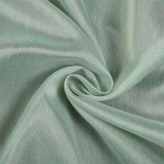 Лен гардинный молочно-зеленый с утяжелителем, Германия, ш.300 оптом