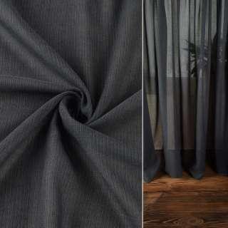 Льон гардинний сірий темний з обважнювачем, ш.300 оптом