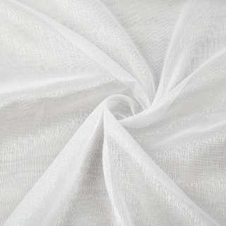 Льон гардинний білий блискучий з обважнювачем ш.300 оптом