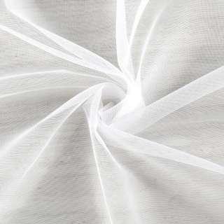 Мікросітка тюль біла з обважнювачем, ш.260 оптом