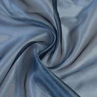 Микросетка хамелеон сине-серая, с утяжелителем, ш.300 оптом