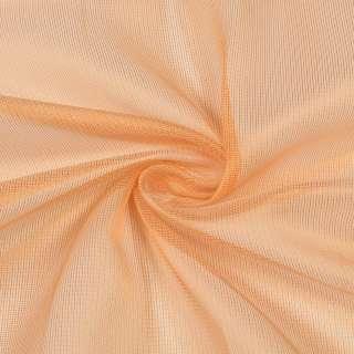 Микросетка хамелеон оранжевая светлая, с утяжелителем, ш.300 оптом