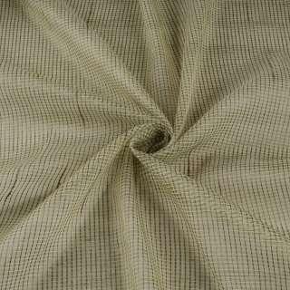Мікросітка тюль смужки ниткові сірі, салатова світла з обважнювачем, ш.300 оптом