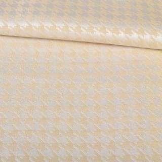 Жаккард портьерный (ассорти) беж, голубой, ш.145 оптом