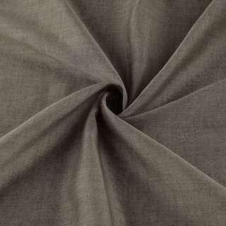 Льон полегшений для штор коричневий з обважнювачем, ш.300 оптом