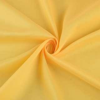 Льон полегшений для штор жовтий з обважнювачем, ш.300 оптом