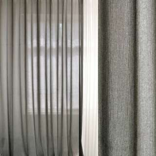 Меланж портьєрний сірий світлий ш.300 оптом