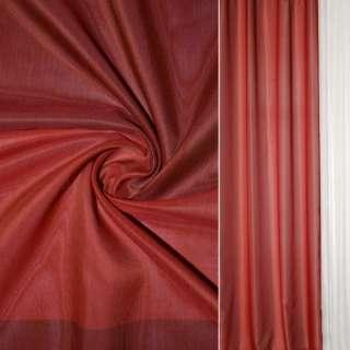 Шелк прозрачный в бордово-красные квадраты Германия ш.145 оптом