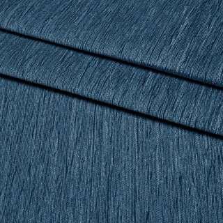Шенилл портьерный синий темный, ш.300 оптом