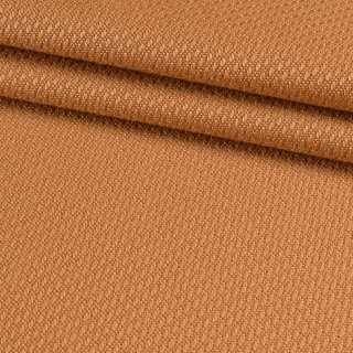 Рогожка віскозна інтер'єрна оранжево-теракотова ш.140 оптом