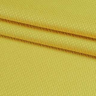 Рогожка вискозная интерьерная желтая ш.140 оптом
