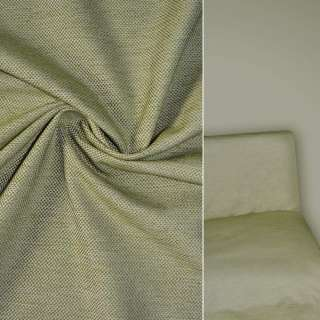 Рогожка бежево зеленая ш.150 оптом